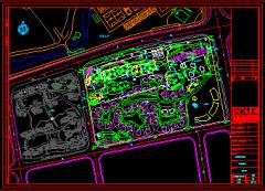 北块浦东世纪花园2期归档全套初步施工图(100MB)